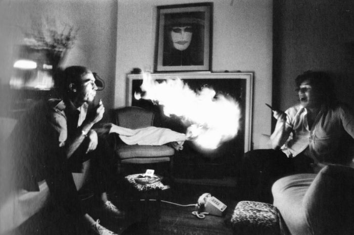 A Drugged Out Day In The Life Of Hunter S. Thompson