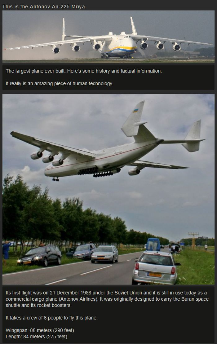 The Largest Plane Ever