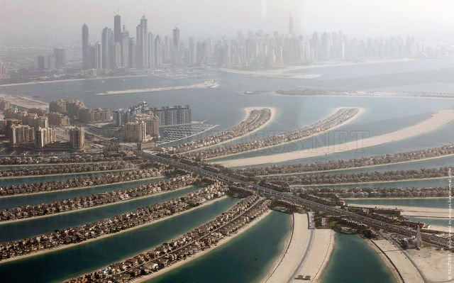 Aerial Shots of Dubai