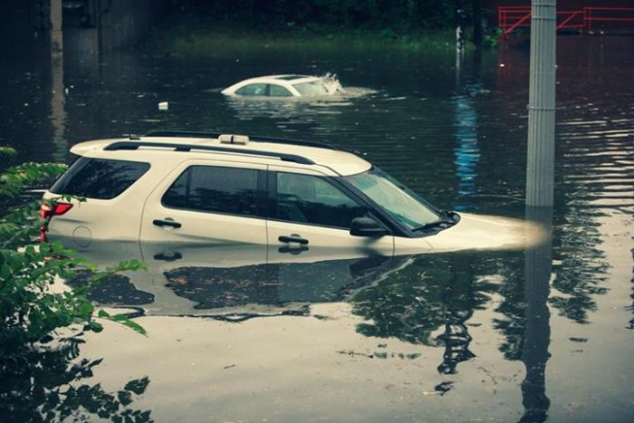 The Flooded Streets Of Detroit
