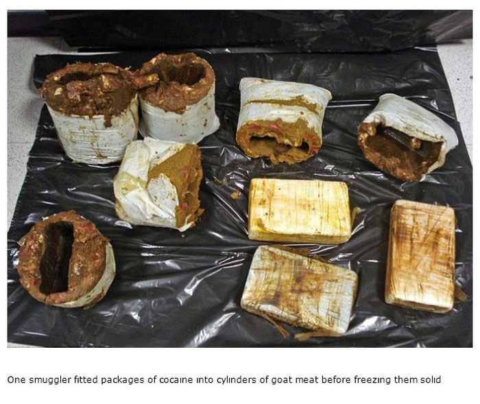 Strange Things People Have Used To Smuggle Drugs