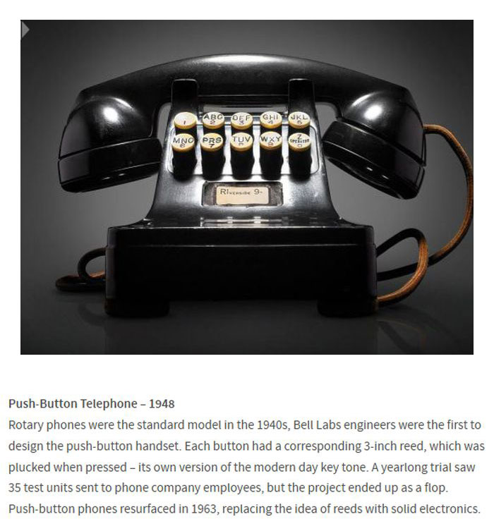 Early Prototypes Of Now Famous Technology