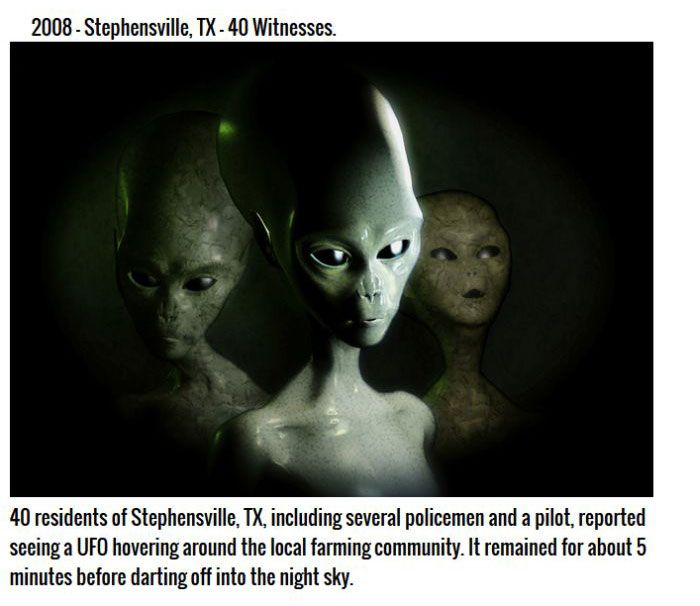 Scary But Believable Alien Encounter Stories