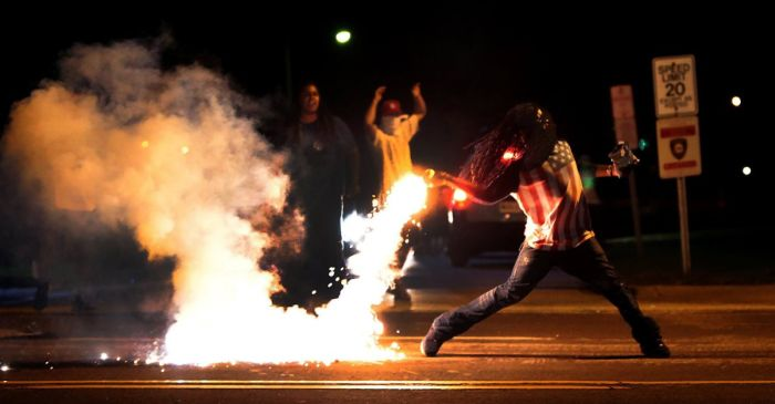 Photos From Inside The Ferguson Protests