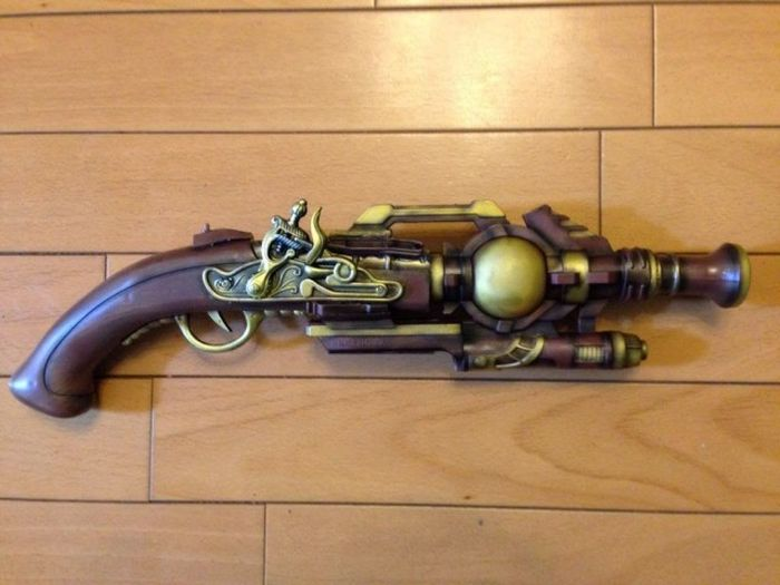 How To Make A Steampunk Handgun