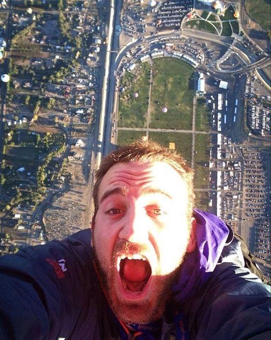 The Coolest Selfies Ever Taken