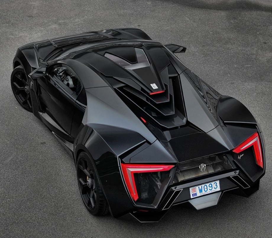 Sport Car Collections Jayde Mercedes Benz Customized: W Motors Lykan Hypersport 740hp For $3.4 Million