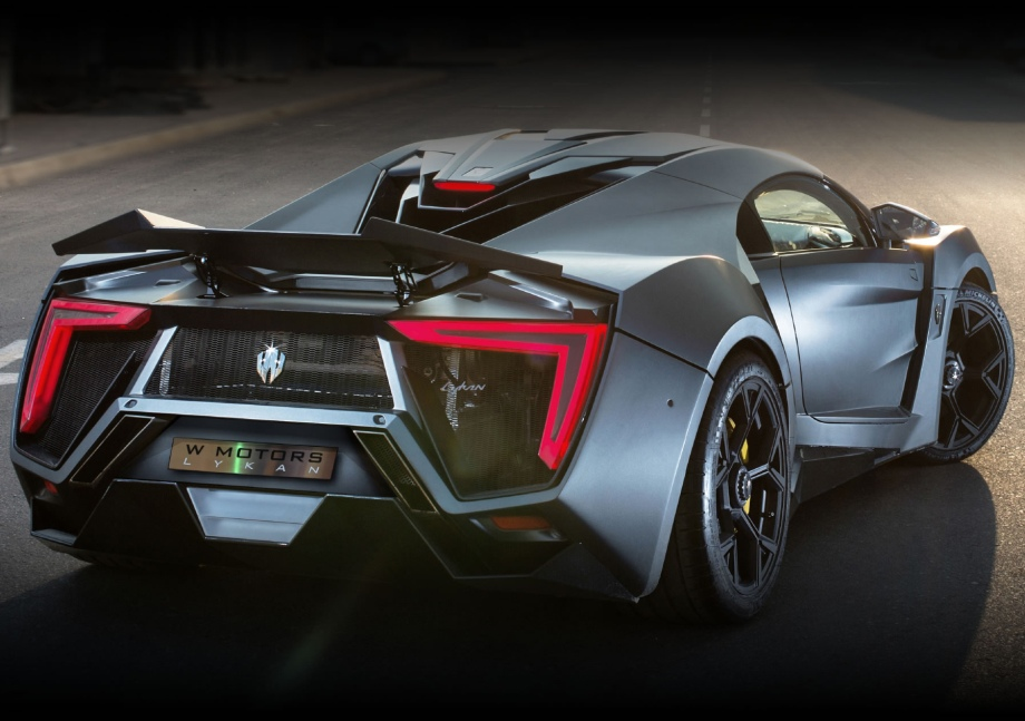 W Motors Lykan Hypersport 740hp for $3.4 million