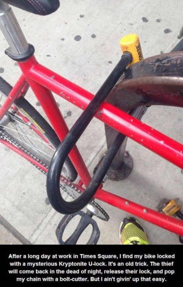 Man Has To Steal His Own Bike