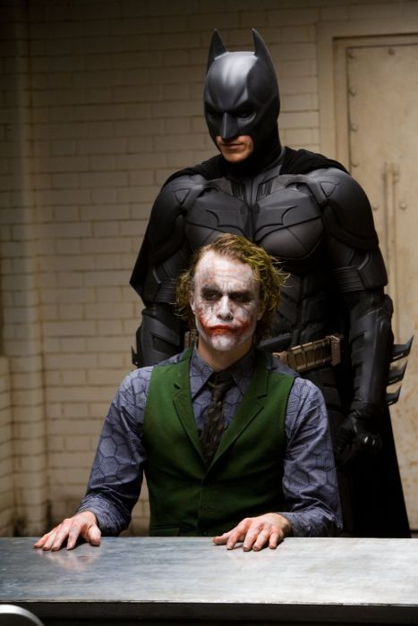 Candid Photos From The Dark Knight Interrogation Scene