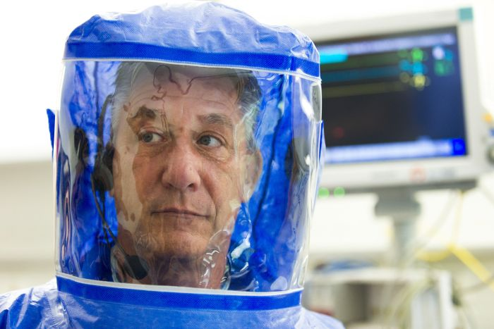 Inside The Ebola Isoloation Ward