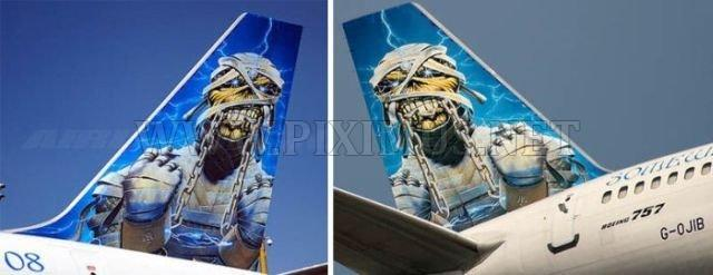 Cool paintings on airplanes