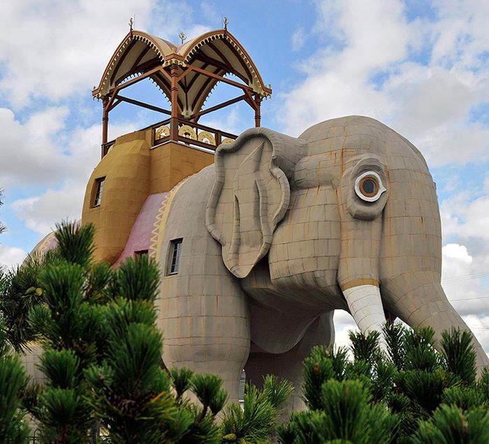 Houses And Buildings That Look Like Animals