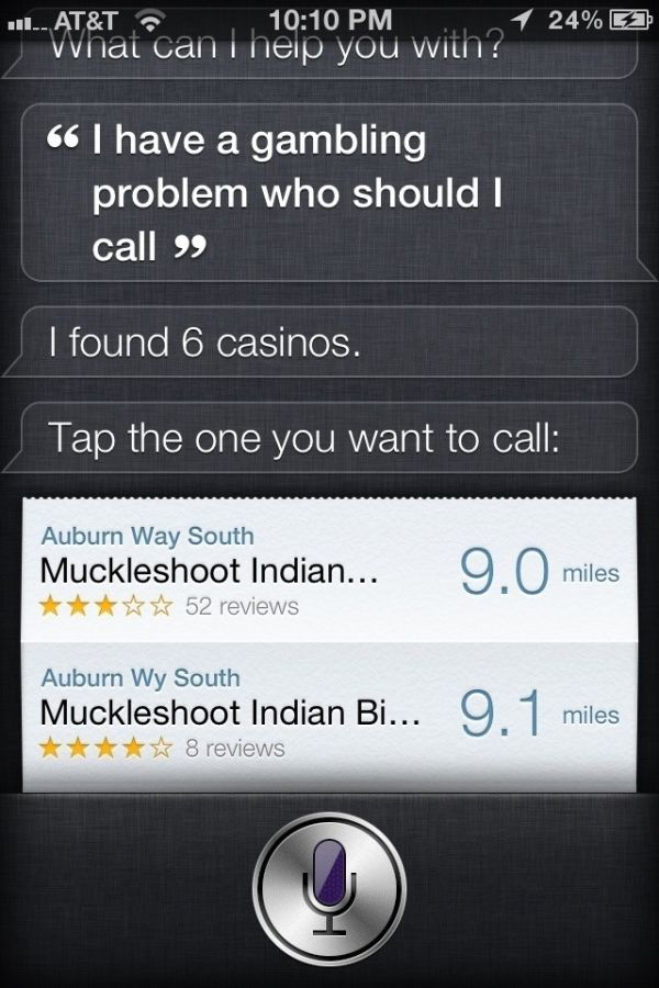 That Awkward Moment When Siri Lets You Down