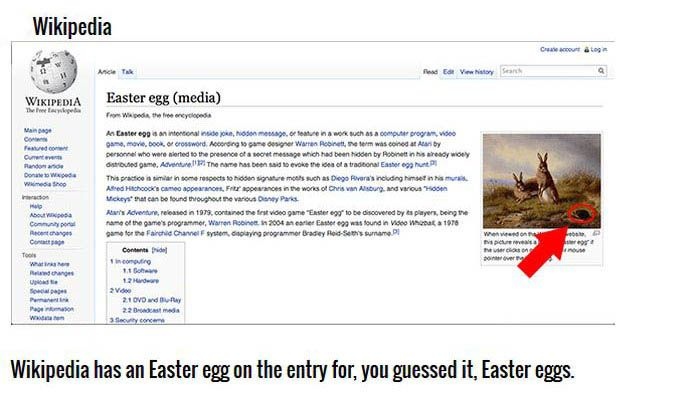Easter Eggs You Didn't Know Are Hidden On The Internet
