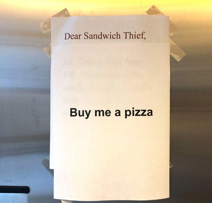 Epic Office Battle Over A Turkey Sandwich