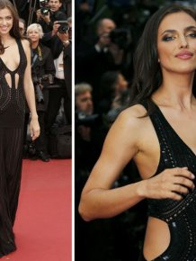 Celebrities in sexy outfits