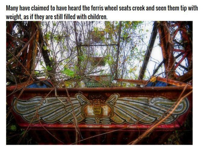 This Abandoned Theme Park Is Definitely The Devil's House