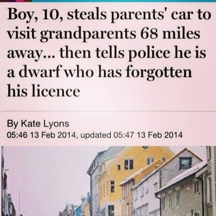 Outrageous News Headlines That Prove The World Isn't Normal