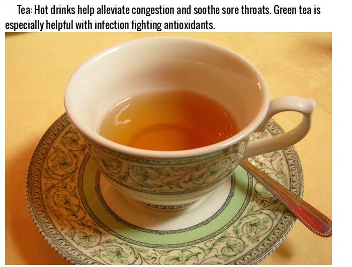 Best Foods To Cure A Cold Or Hangover