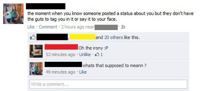 How To Spot Annoying Girls On Facebook