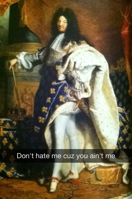 Famous Works Of Art Get The Snapchat Treatment