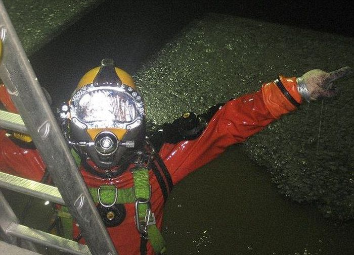The Dirtiest Diver Ever