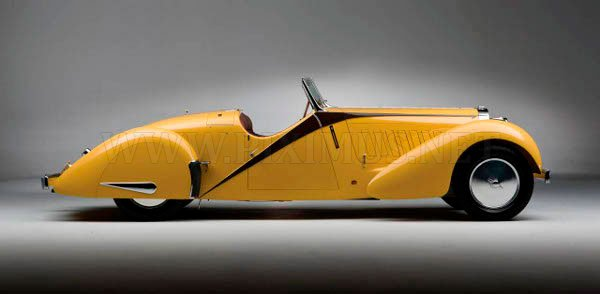 Bugatti type 57 grand raid roadster, 1935, part 1935