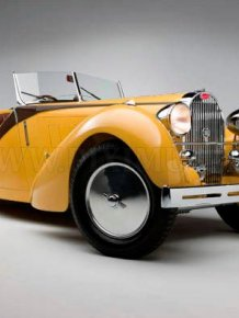 Bugatti type 57 grand raid roadster, 1935