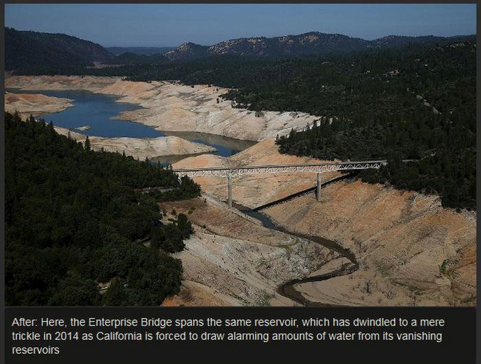 Terrifying Photos Show The Effect Of California's Drought