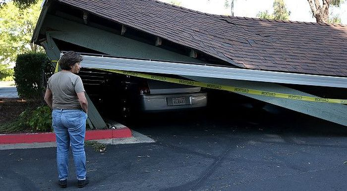 Up Close And Personal With A Napa Earthquake