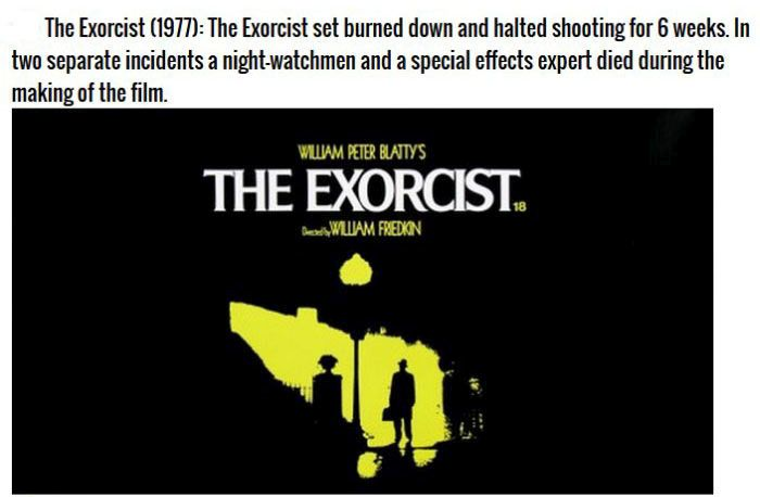 Hollywood Movies That Are Definitely Cursed