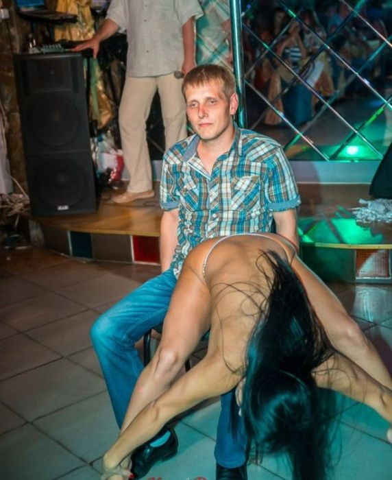 The Wrong Guy To Bring To The Strip Club
