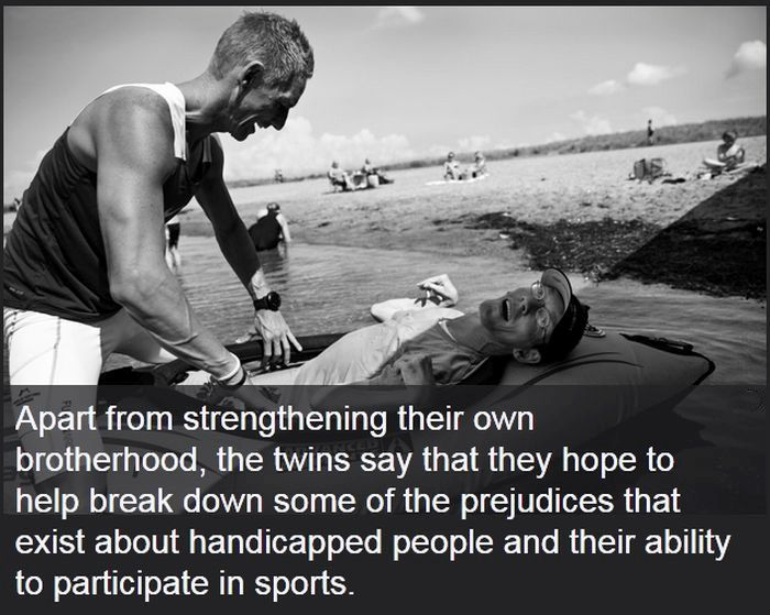 The Heartwarming Story Of The Ironman Twins