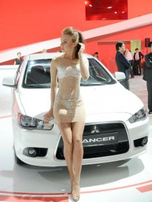 Girls From The Moscow International Automobile Salon