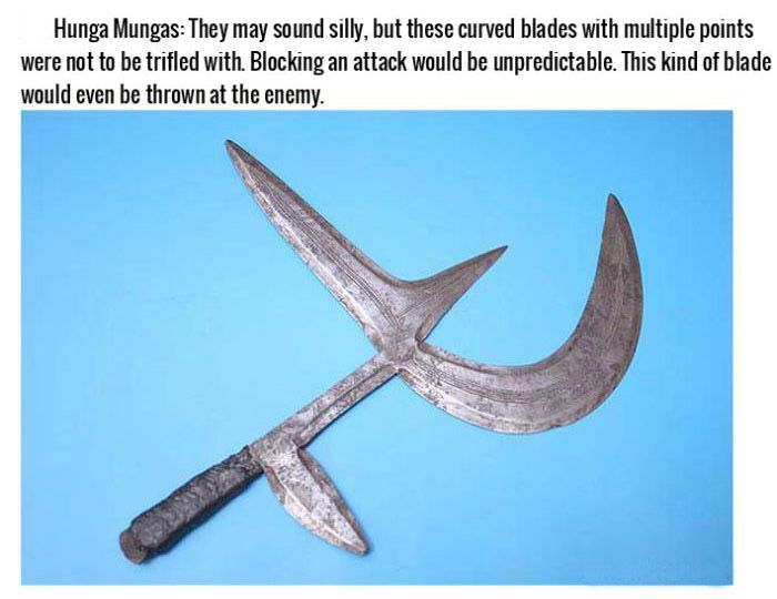 Brutal Combat Weapons Throughout History