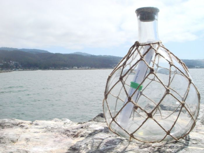 Amazing Message Found In A Bottle