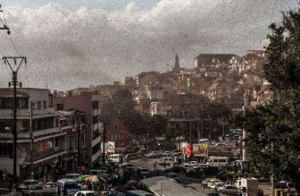 Locust Swarm Takes Over Madagascar