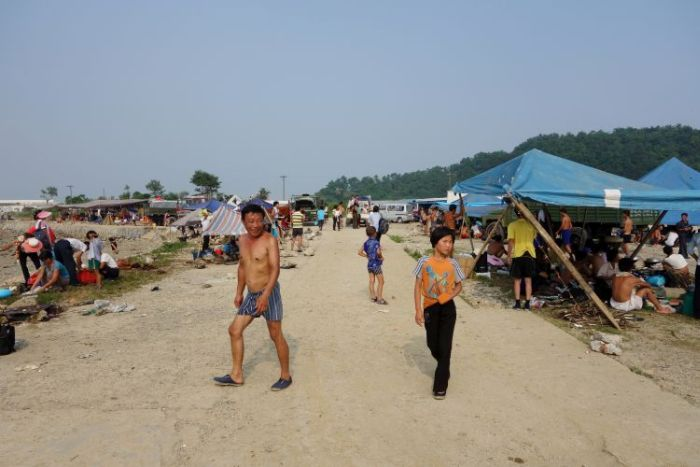 A Day At The Beach In North Korea