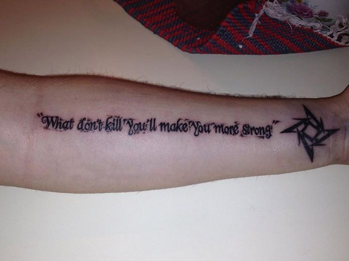 Misspelled Tattoos That Will Live Forever