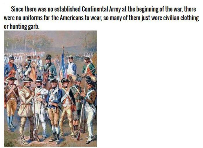 9 Patriotic Facts About The American Revolution