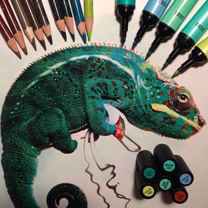 The Tools Of Amazing Artist Karla Mialynne