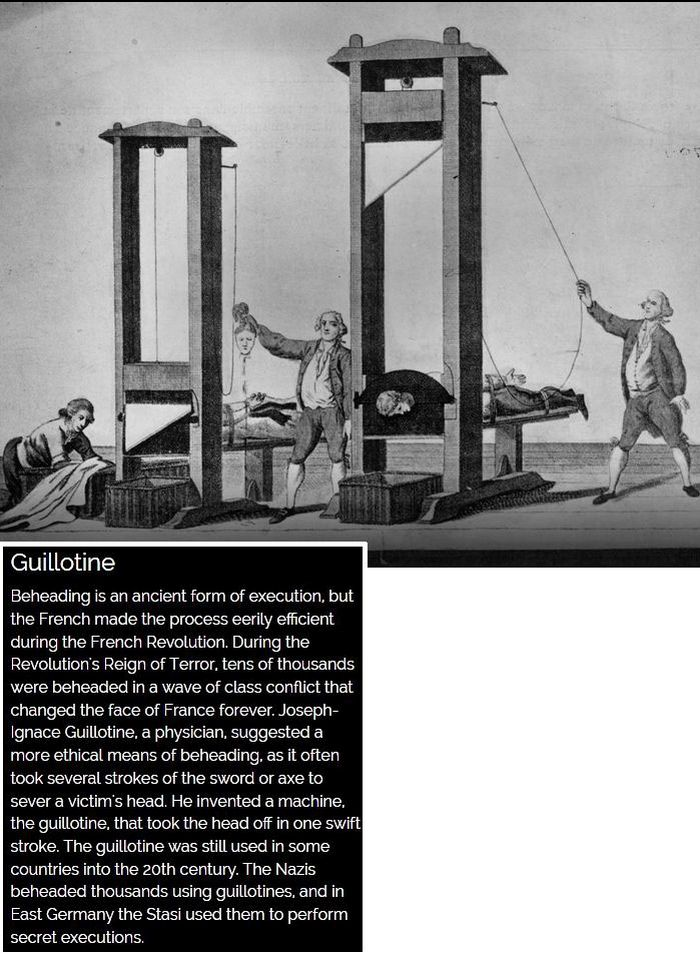 The Most Brutal Methods Of Execution Throughout History