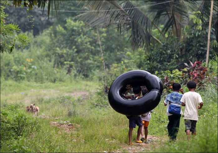 Incredible Journeys Kids Take To Get To School