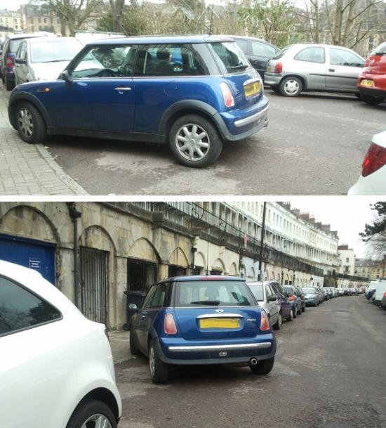 WTF parking