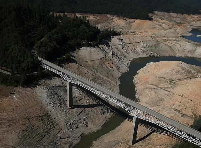 Before And After Photos Show The Severity Of The California Drought