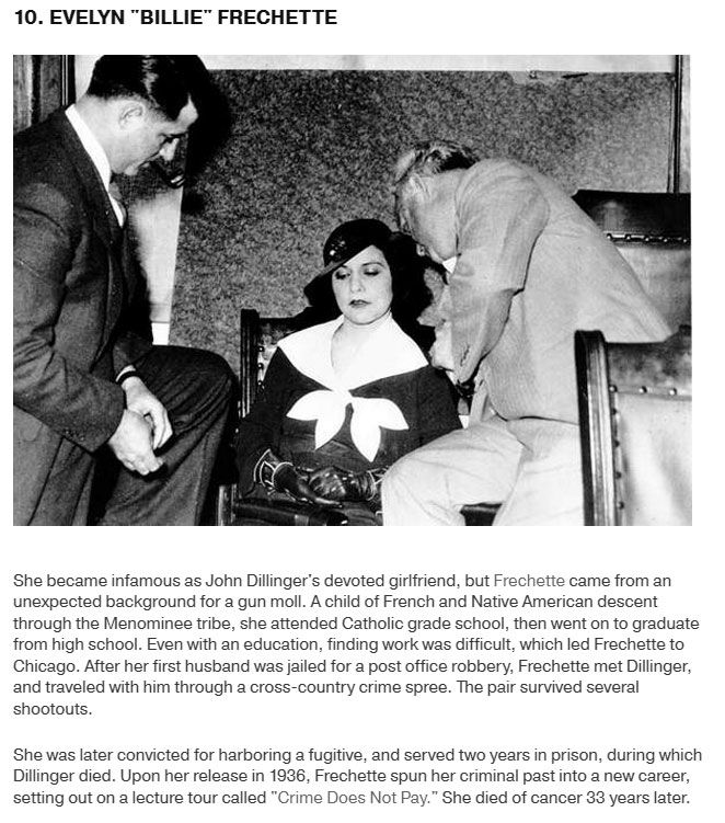 10 Notorious Female Gangsters That Make The Men Look Tame