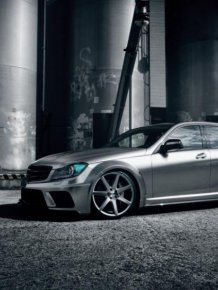 MB C63 AMG T-Model Black Series Petronas F1 Edition by Carrotec