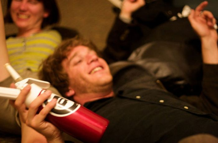 British Teens Consume Laughing Gas