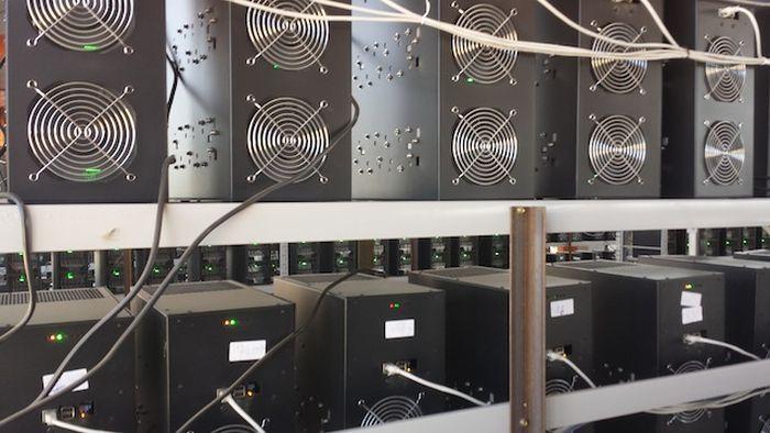Inside a Large Bitcoin Farm
